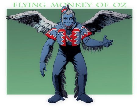 THE WIZARD OF OZ: Flying Monkey Mugshot by Jerome-K-Moore