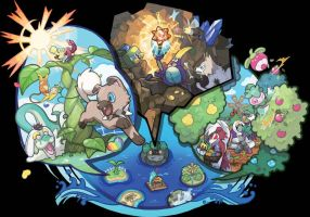 Pokemon Sun and Moon Art
