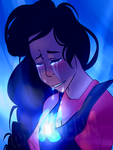 .:Here comes a thought:. Steven Universe by Densetsu-Sama