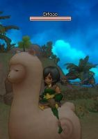 Difoao and the alpaca by xHideyox