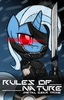 Commission: Metal Gear Trixie by drawponies