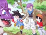 Gokou Pan Trunks 1 by hirokada