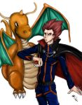 Lance and Dragonite - Pokemon by EpicNinjaArtist