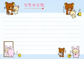 rilakkuma random moments by tristan19019