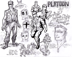 Platoon Concept Art by kjmarch