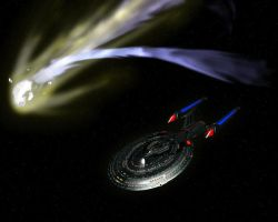 Enterprise-E: Close Encounter by samuelkowal906