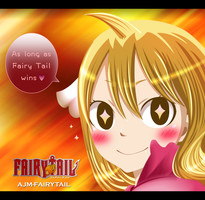 FairyTail - As long as Fairy Tail wins by AJM-FairyTail
