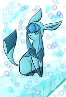 Glaceon by Flamestar21