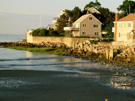New England Homes by Michayla-Marie
