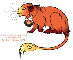Lionheart-SP Rat Design 2 by MoonsongWolf