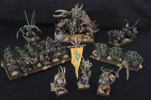 Nurgle Battalion (Legions of Chaos) by Taelonar