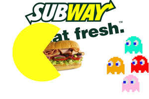 Pacman eat fresh by elvenbladerogue