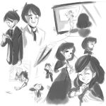 Paperman sketches by megamooni