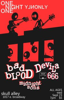 Bad Blood Poster by 19cartwheels