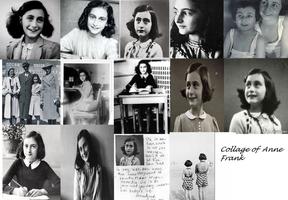 Anne Frank Collage by HellGirlTsubasaFan