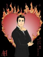 A FIRE INSIDE  DAVEY HAVOK by naochelsea
