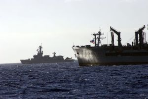 U.S. oiler and Chile ship by harter