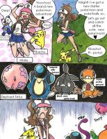 Pokemon Black and White: Cute? by ninja25star-pikaluv