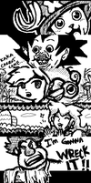 Miiverse Doodles 2 by the-lagz