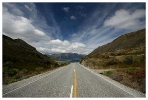 Lake Hawea New Zealand 02 by Thrill-Seeker