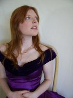 Purple Portrait 2 by chamberstock
