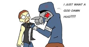 you tell him hunter by petplayer976