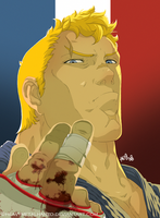 Street Fighter 4-Abel by HeavyMetalHanzo
