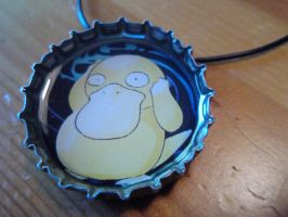 Psyduck Necklace 2 by goodcleanevilfun