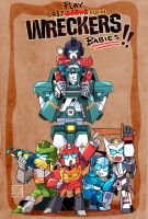 TF: Wreckers baby by c0ralus