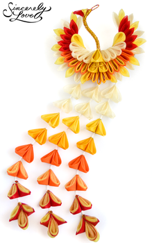 Phoenix King Kanzashi by SincerelyLove
