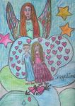 angel of wonders of love for Sarkytob by ingeline-art