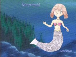 May as a mermaid by maripooh13