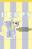 Derpy Quote iPhone 4 Wallpaper by AceofPonies