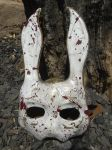Splicer Rabbit Mask by meanlilkitty
