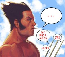 WOLVERINE WEDNESDAY - 47 by reau
