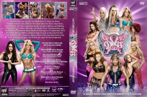 WWE Divas Championship History DVD Cover by Chirantha
