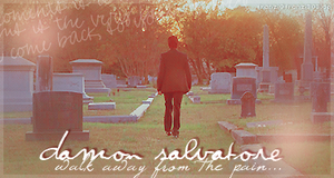 Damon Salvatore - Walk away by franzi303