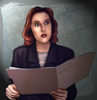 Scully again by aliceazzo