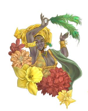 Goddess of Love, Oshun