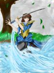 Tsubame The Swordsman by dedebug2007