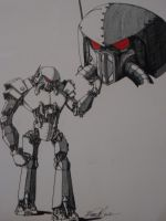 War-Bot by ArtDrudge