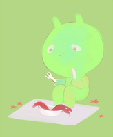 i eat worms by goasthed