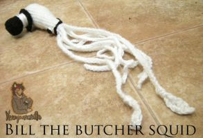 Bill the butcher squid by YenaYarn