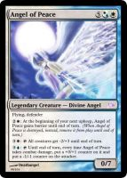 Angel of Peace Magic Card by deathangel20