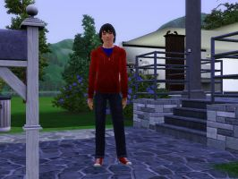 Alex Kent in The Sims 3 by Dreams-to-Words
