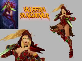 Custom models: Valeera by Khayllys