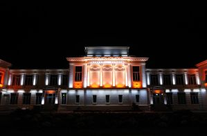The Romanian Academy by Sykeye