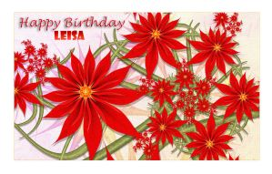2013-28 Leisa's BD by aleisa