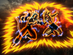 SAIYAN WARS pt1 collab finished by THE-CHAOS-BRINGER