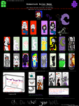 Homestuck Roles Meme by IstalkYourSoul
